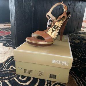 Never been worn Michael Kors heels
